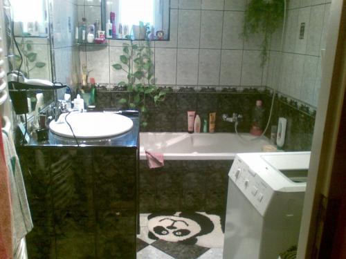 Fekete mosdopult